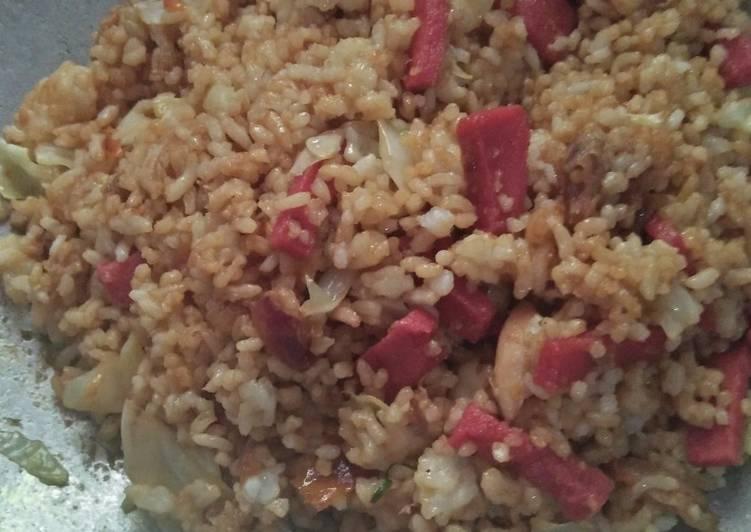 Cara membuat Nasi goreng Rumahan lezat