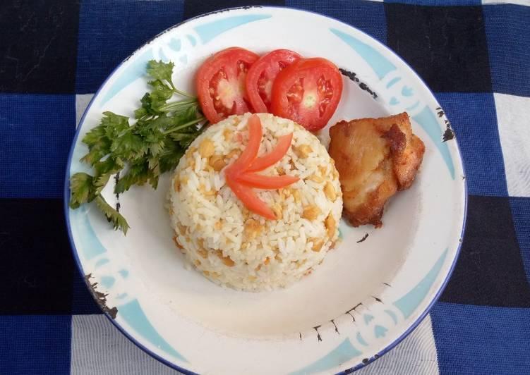 Resep: Nasi tutug tempe yang menggugah selera