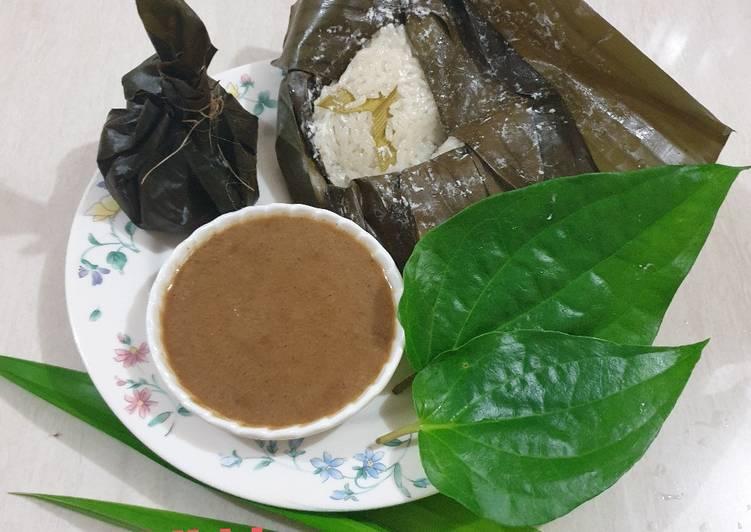 Pulut Kucung Srikaya (Kue Khas Tradisional Kuansing, Riau)