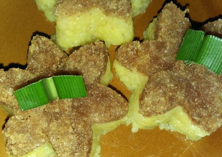 Resep: Pulut/Ketan kuning unti kelapa yang menggugah selera