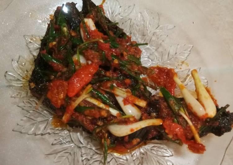 Resep: Ikan sale sambal khas mandailing yang menggoyang lidah