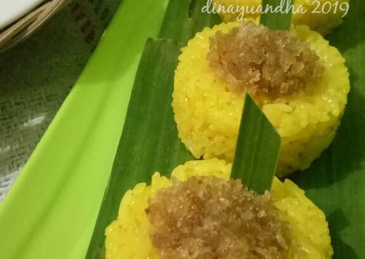 Resep memasak Pulut Ketan Kuning yang bikin ketagihan