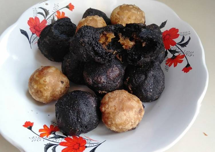 Cara memasak Godok Pulut Hitam dan Putih yang bikin ketagihan