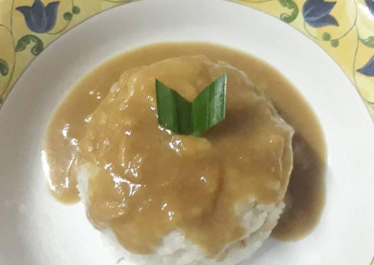 Resep: Pulut Durian ala resto