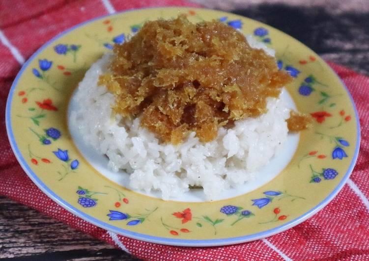 Cara Mudah membuat KETAN PULUT UNTI jajanan tradisional Mandailing ala resto