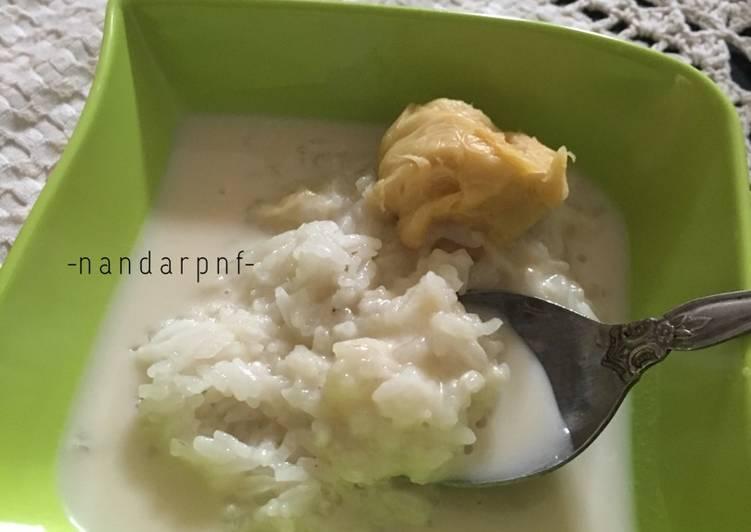 Resep membuat Pulut Durian Khas Aceh (Pulut Boh Drien) yang menggugah selera