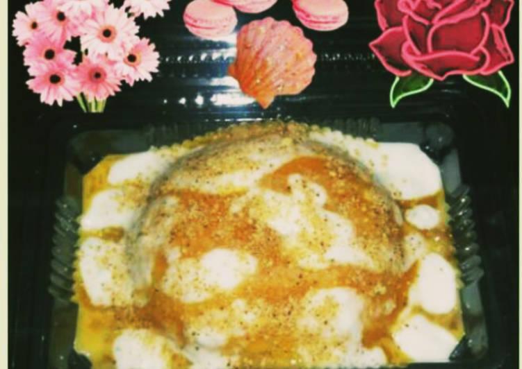 Resep: Ketan susu saus fla manggah manis gurih 🥳🥳🥳 sedap