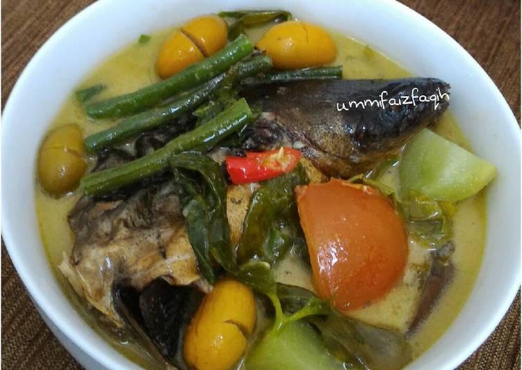 Resep: Lodeh Ikan Sale yang menggugah selera