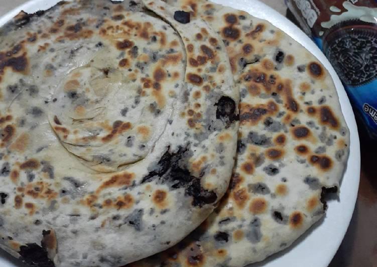 Resep: Roti Canai Oreo ala2 enak