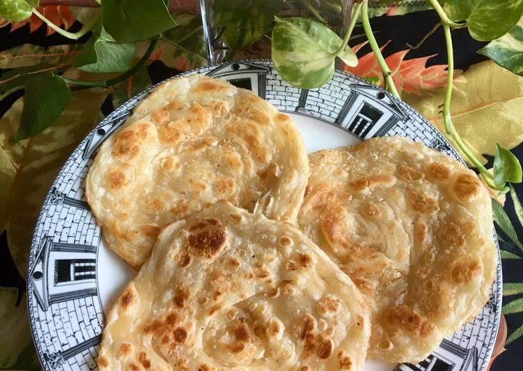 Roti Canai Lentur, Flaky, enak