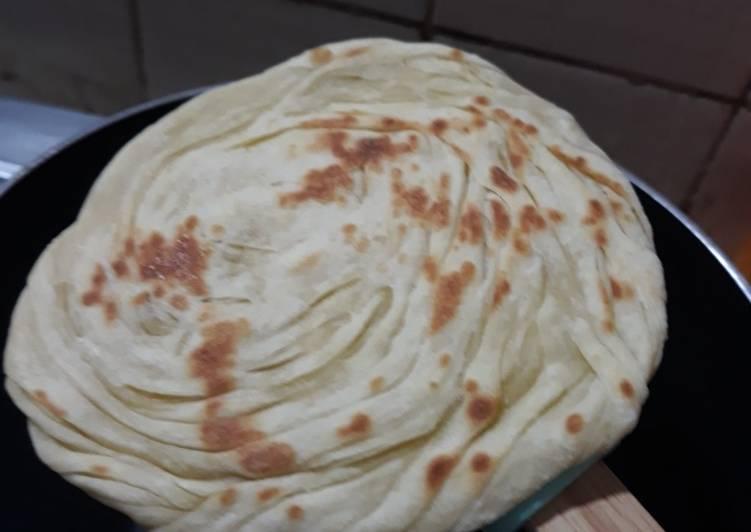 Resep membuat Roti canai ala resto