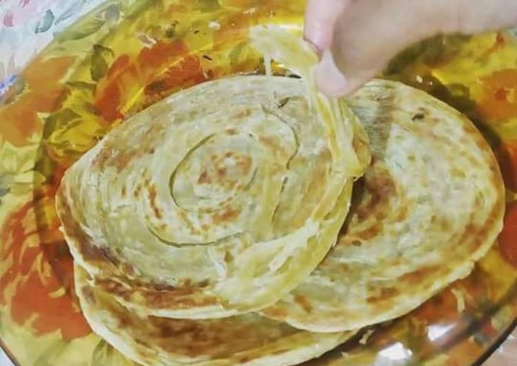 Cara Mudah mengolah Canai (roti maryam) ala resto