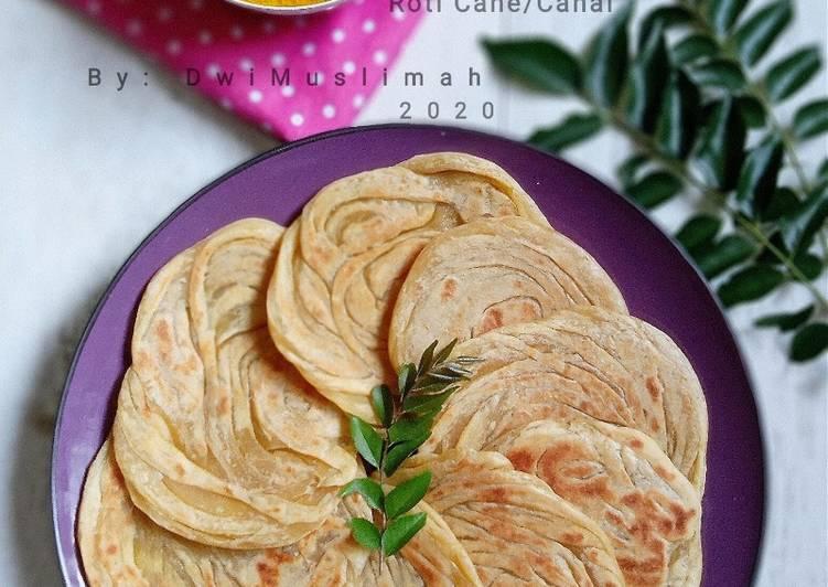 Resep: Roti Canai/Cane yang menggugah selera