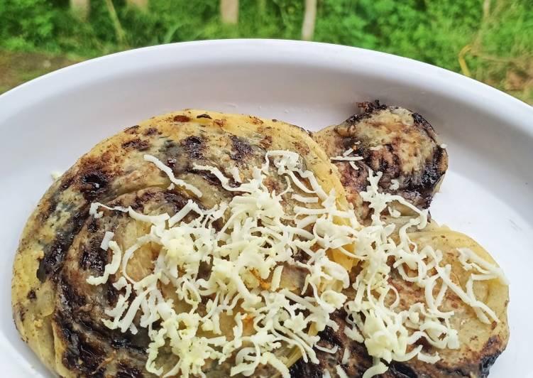 Resep memasak Roti Canai Maryam Coklat yang bikin ketagihan