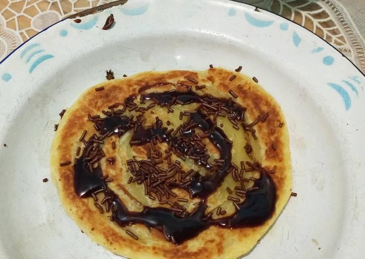 Resep: Roti Maryam (atau Canai) ala resto