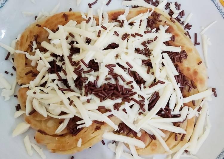 Resep memasak Roti Canai Coklat Keju yang menggugah selera
