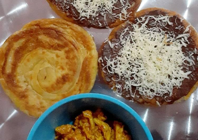 Cara Mudah mengolah Roti canai yang menggugah selera