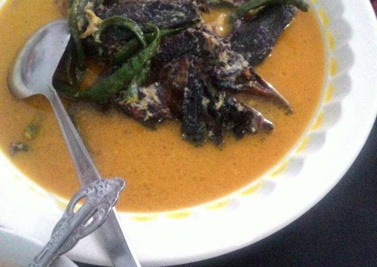 Resep: Gulai Ikan Sale yang bikin ketagihan