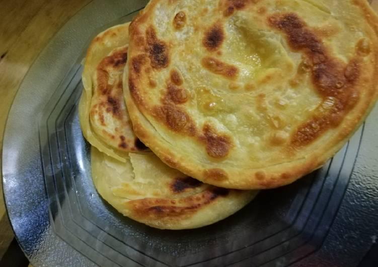 Resep: Roti Maryam/canai enak
