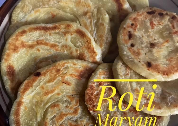 Cara Mudah membuat Roti Maryam/canai sedap