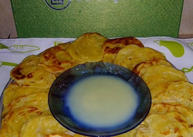 Cara membuat Roti Maryam/ Canai 3 bahan yang bikin ketagihan