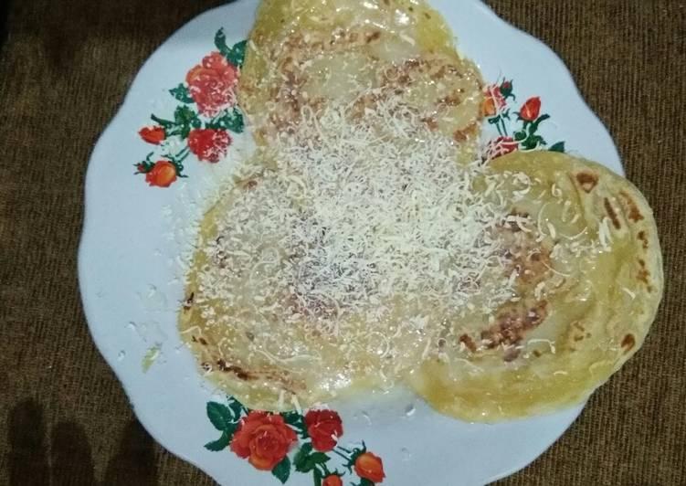 Resep mengolah Roti canai/cane/maryam sedap