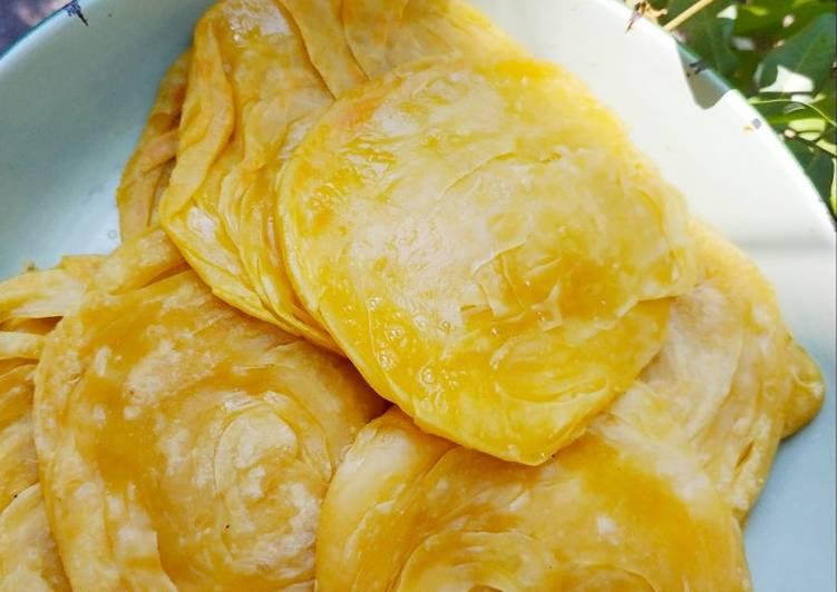 Resep: Roti maryam / roti canai enak