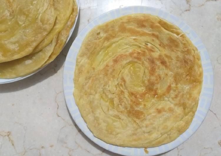 Resep mengolah Roti maryam / roti canai + step by step enak