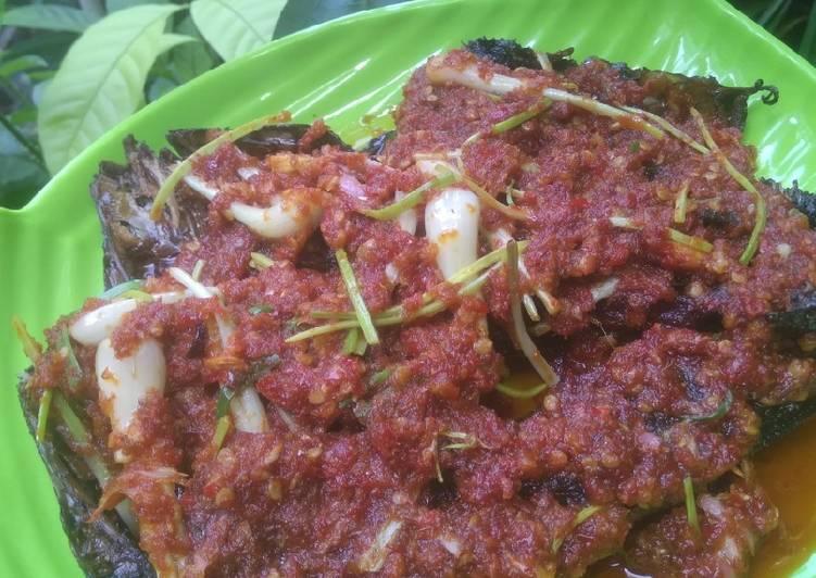 Resep mengolah Ikan baung sale sambal kincung #terimakasihguru #gurukuidolaku lezat