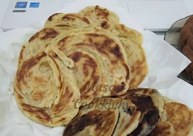 Resep: Roti Maryam/Canai ala resto