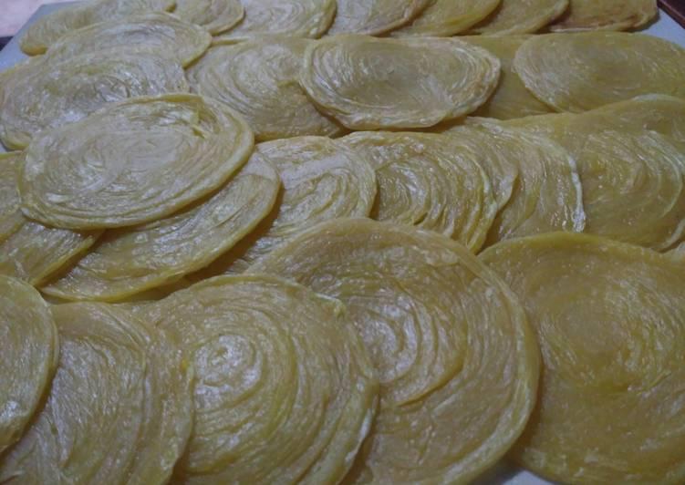 Roti Maryam (Roti Canai)