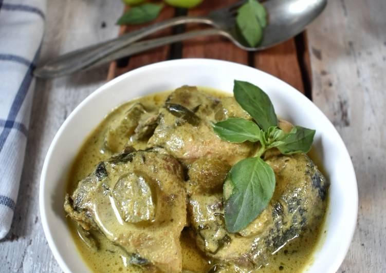 Cara Mudah mengolah Gulai Taboh Tuna khas Lampung ala resto