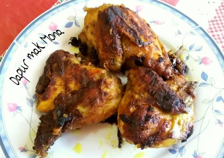 Cara Mudah mengolah Ayam bekakak yang bikin ketagihan