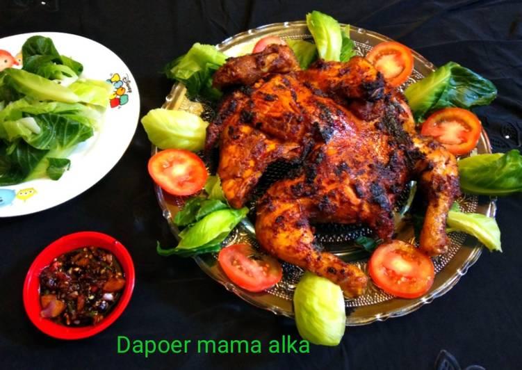 Resep: Ayam bakakak bakar lezat