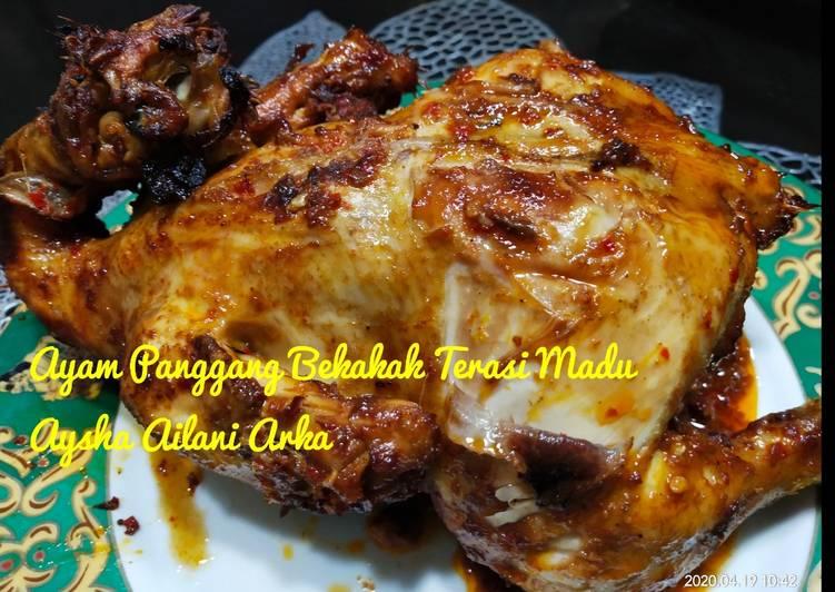 Ayam Panggang Bekakak Terasi Madu