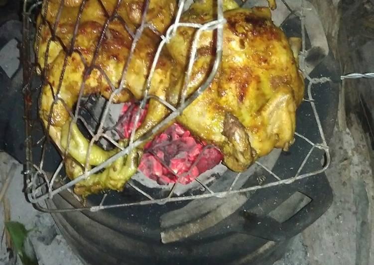 Resep: Ayam bakar bekakak istimewa
