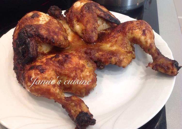 Resep mengolah Ayam bakar bekakak yang menggugah selera