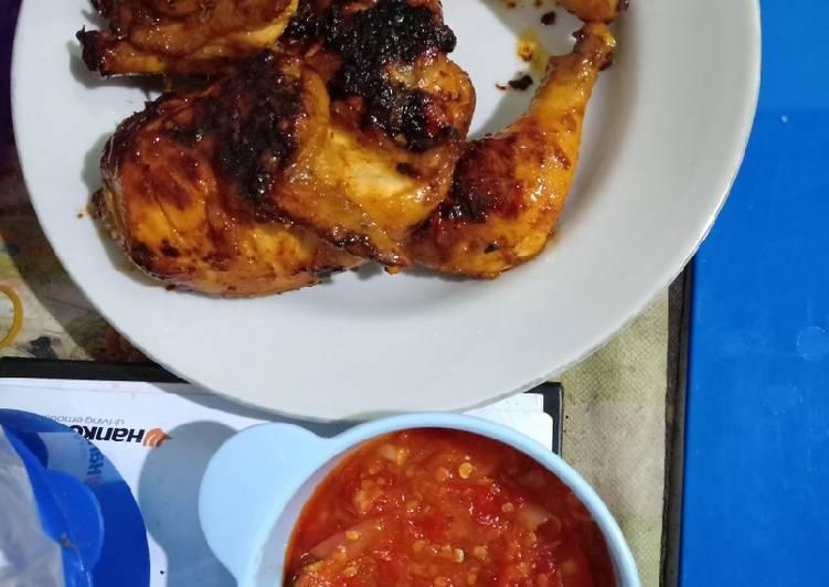 Resep: Ayam Bekakak ala resto
