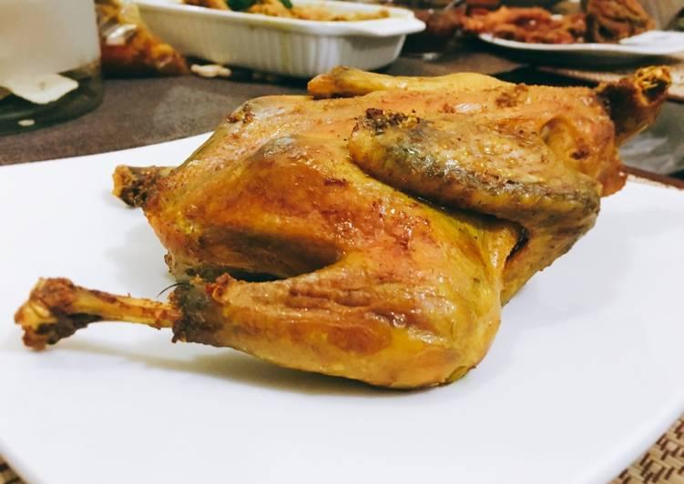 Ayam bakakak / bakakak hayam