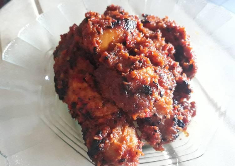 Cara Mudah memasak Ayam Bakar Bekakak yang menggugah selera