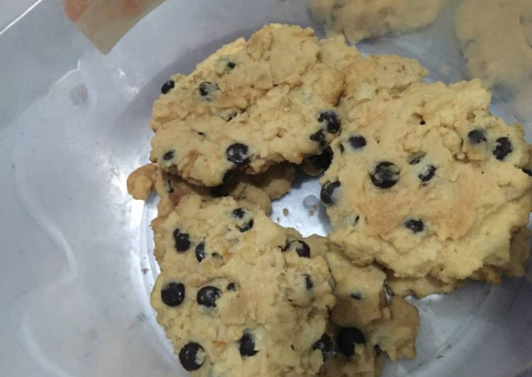 Resep memasak Cookies emping