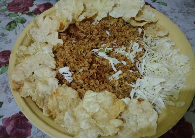 Resep: Nasi goreng Emping sedap