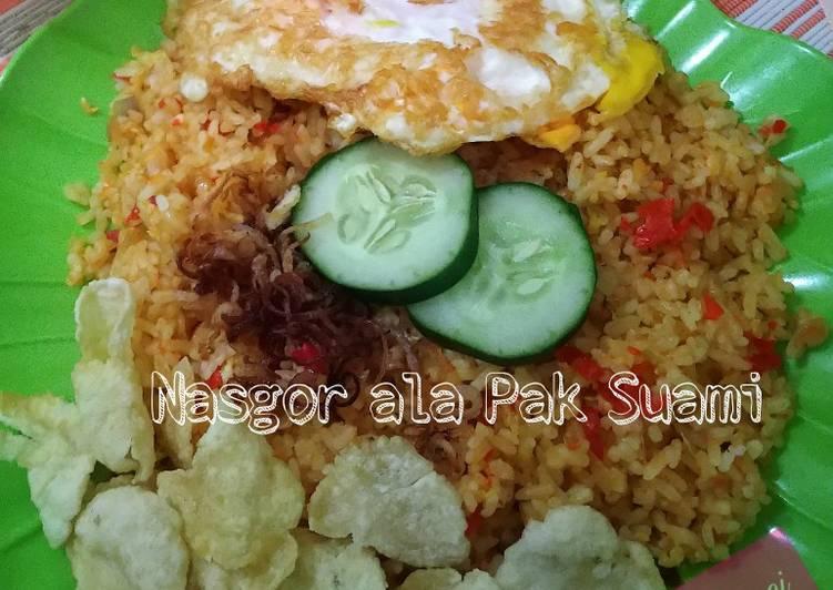 Resep memasak Nasgor ala Pak Suami lezat