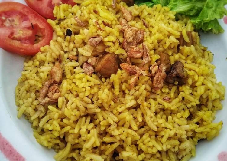 Cara memasak Nasi Kebuli Rice Cooker yang bikin ketagihan