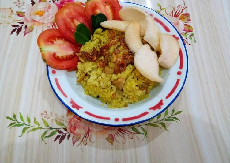 Nasi Kebuli Ayam (Magicom)
