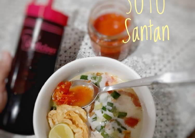 Resep membuat Soto Santan - ceker sedap