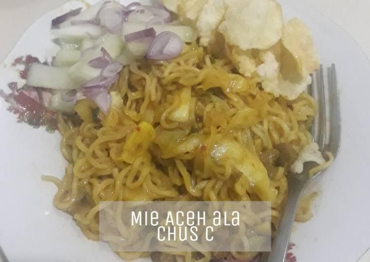 Cara Mudah membuat Mi Aceh ala Saya enak