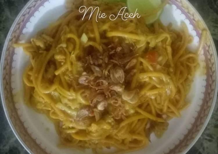 Resep: Mie Aceh ala resto
