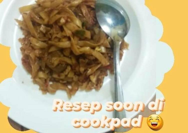 Cara Mudah memasak Kwetiaw goreng abang2 jualan istimewa