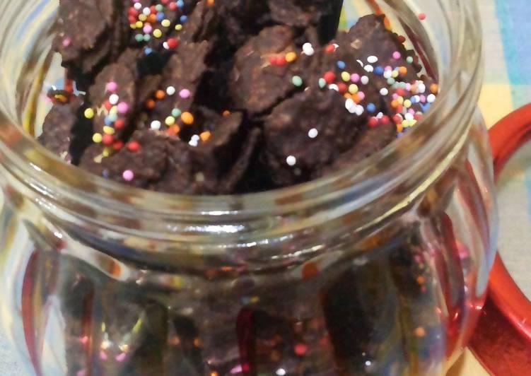 Resep: Corn flek coklat yang menggugah selera
